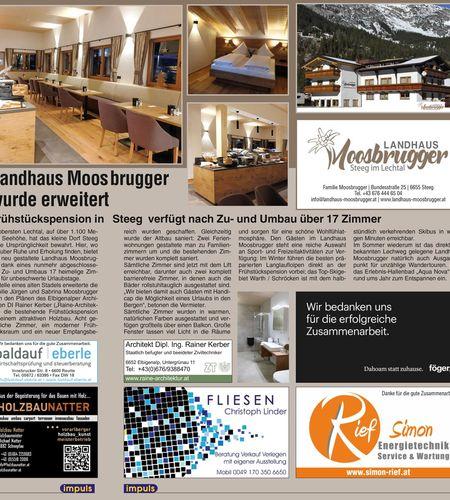 Landhaus Mossbrugger Erweiterung